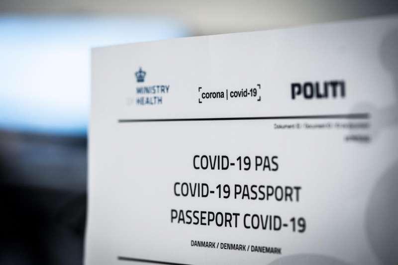 Proyecto de pasaporte covid de Dinamarca.