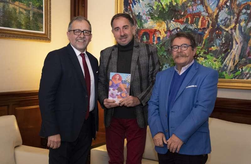 Martín con Broch y Bolumar