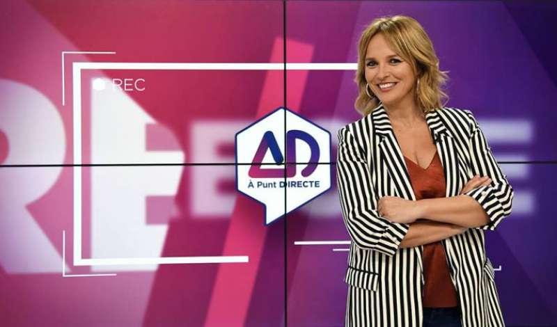 Carolina Ferre, cuando presentaba À Punt Directe. EPDA
