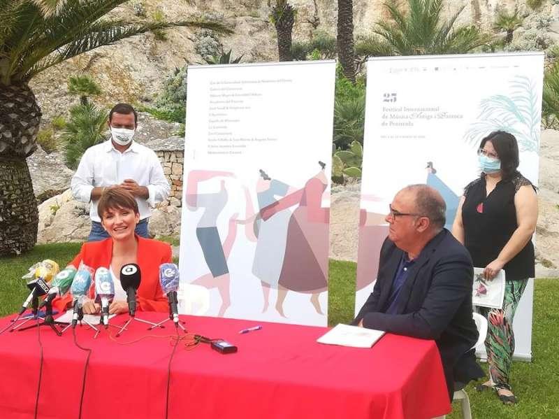 Imagen cedida por el IVC de la presentación del festival. EFE