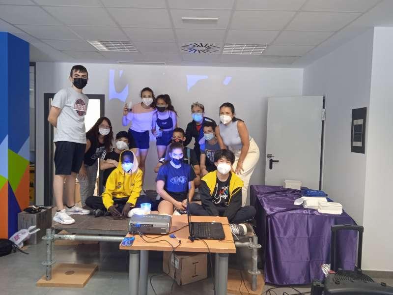 Grupo de jóvenes de Alfafar. EPDA