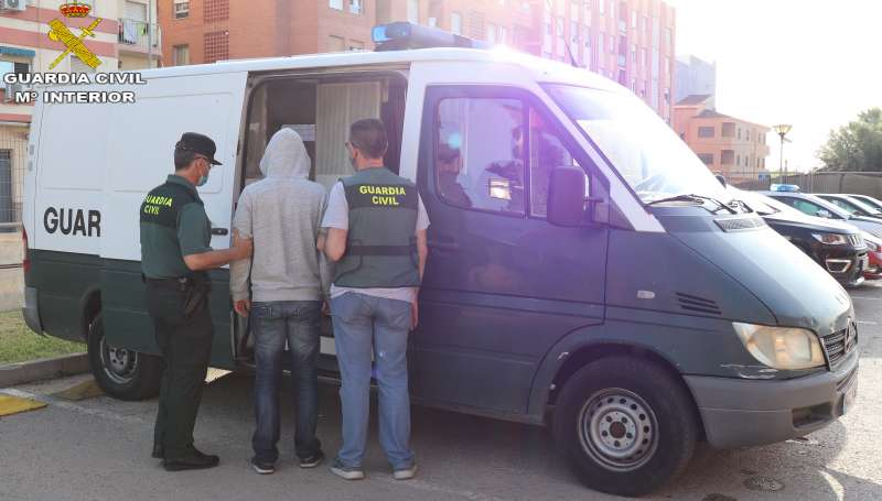 Foto operación./Guardia Civil