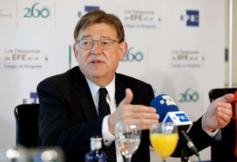 Ximo Puig. Foto EFE