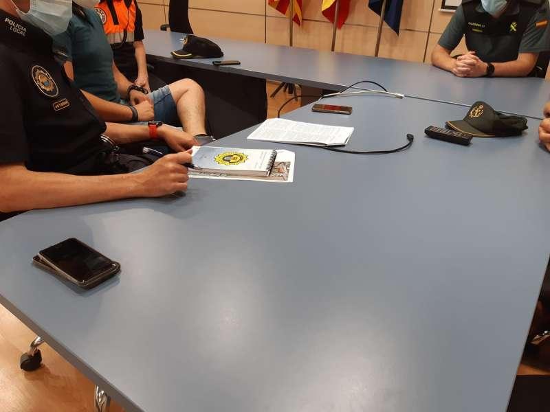 Reunió de seguretat en La Pobla de Farnals