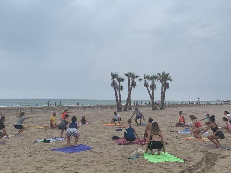 Esport a la platja. / EPDA