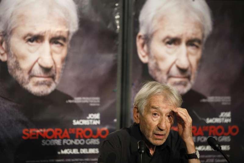 El actor José Sacristán presenta