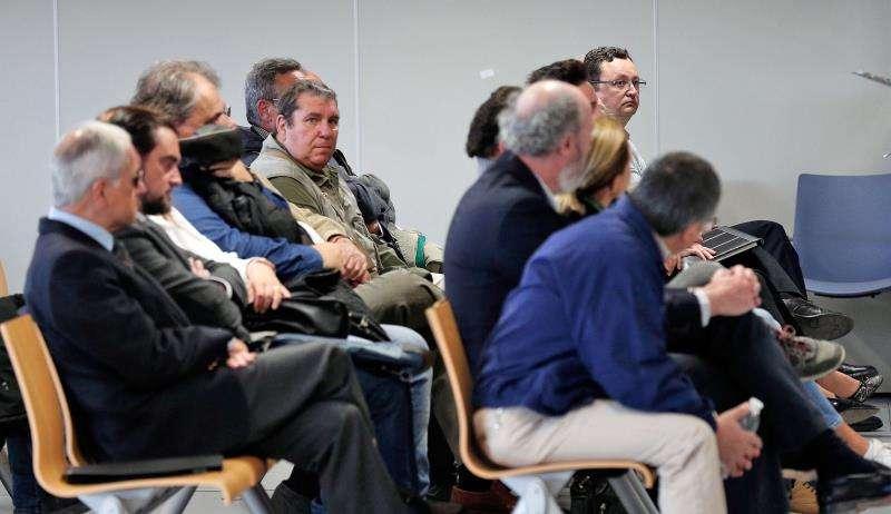 Vista del segundo de los juicios por el desvío de fondos de la Generalitat a proyectos de cooperación internacional EFE/Archivo