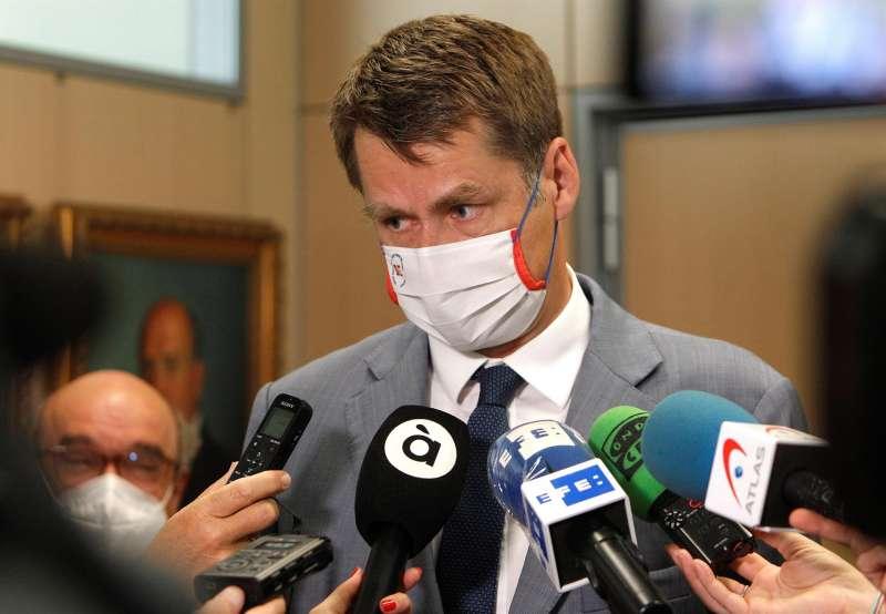 El embajador del Reino Unido en España, Hugh Elliot.