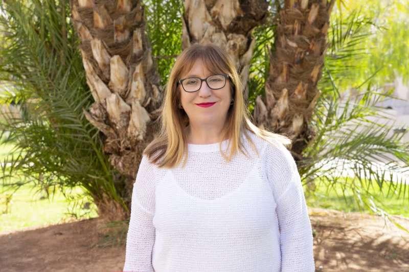 La vicesecretaria de la província de Castelló Mari Carmen Aguilella. EPDA
