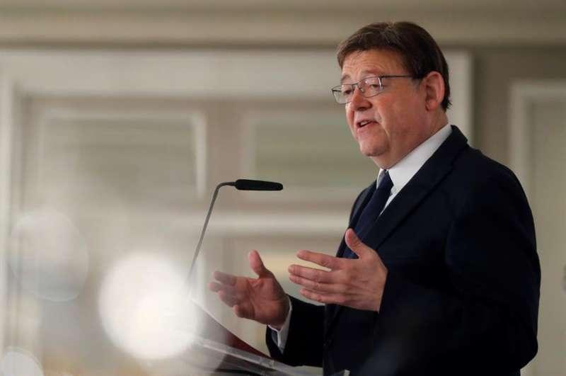 El president de la Generalitat, Ximo Puig. EFE/Juan Carlos Hidalgo/Archivo