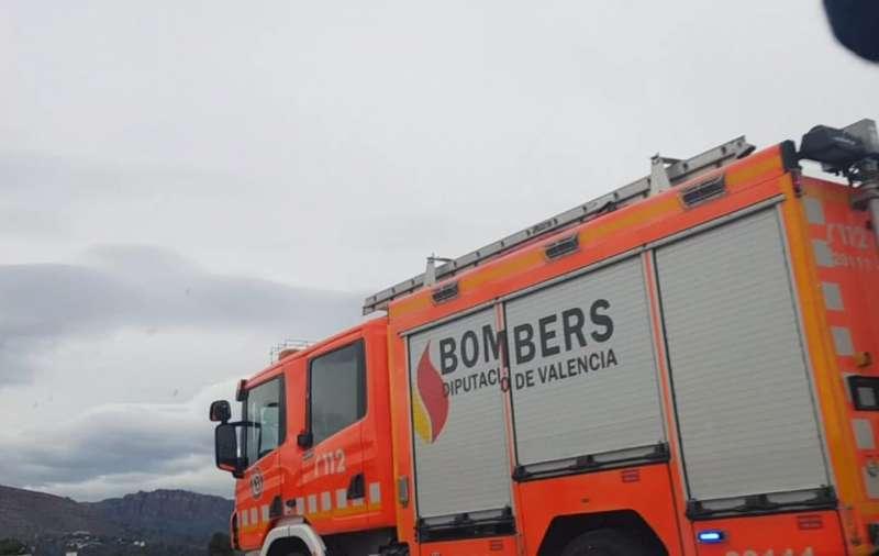 Imagen de archivo de un camión de bomberos del Consorcio Provincial de Valencia