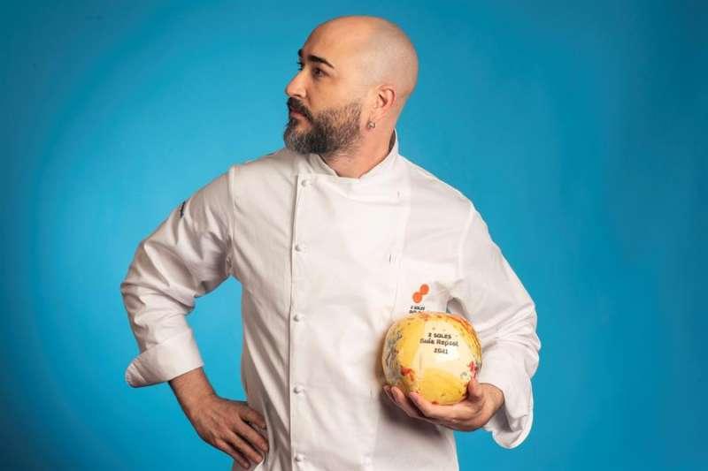 El chef Vicent Patiño del restaurante Saiti. EFE/Guía Repsol