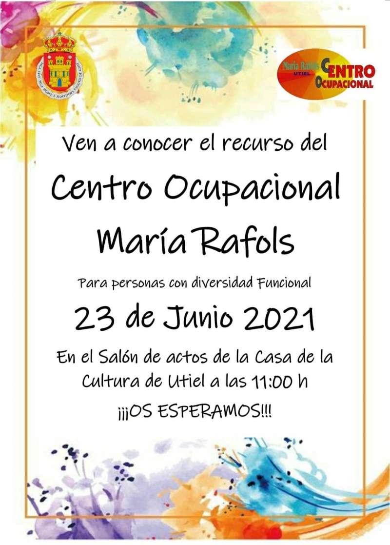 El Centro Ocupacional María Rafols presenta los recursos y servicios del centro dirigidos a personas con diversidad funcional