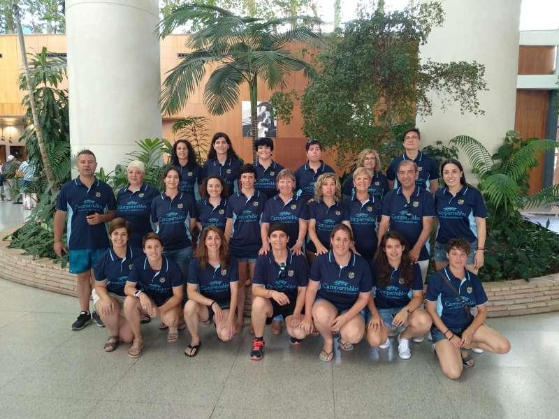 Equipo femenino de Camporrobles