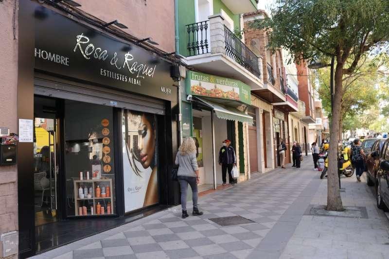 Calle comercial de Albal