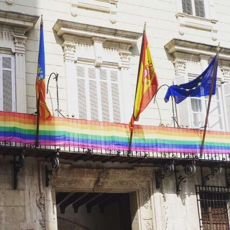 Bandera arco iris/EPDA