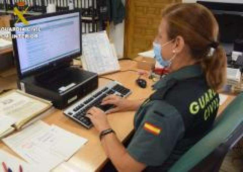 Guardia Civil trabajando en una imagen de archivo.