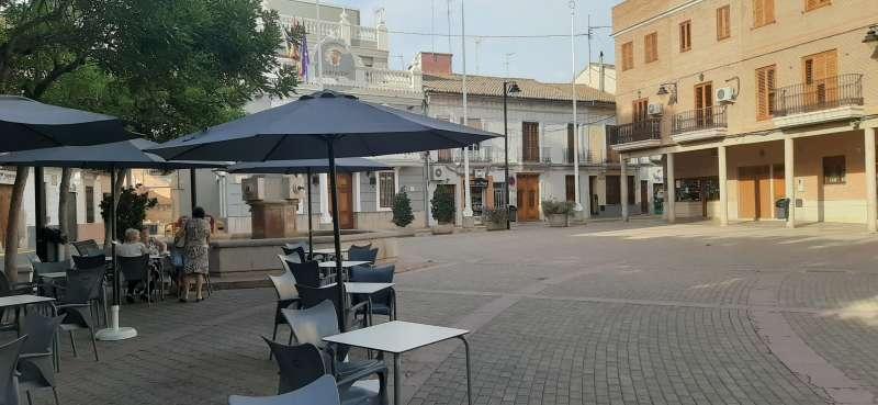 Plaça Major de Meliana. EPDA