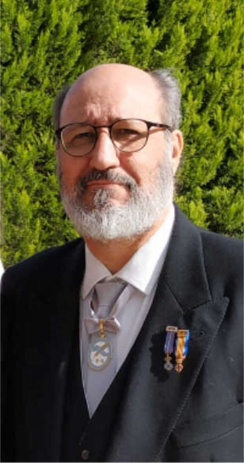 El escritor Juan Benito Rodríguez Manzanares. EPDA