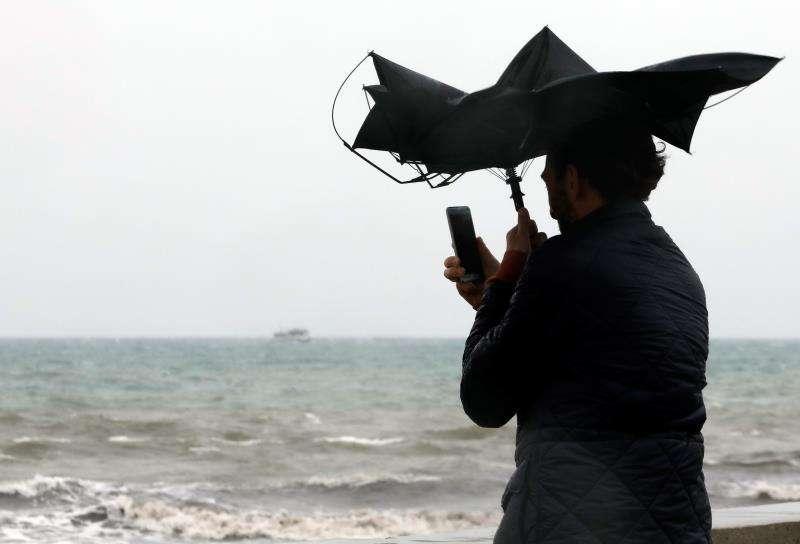 El temporal ha azotado la Comunitat Valenciana. EFE
