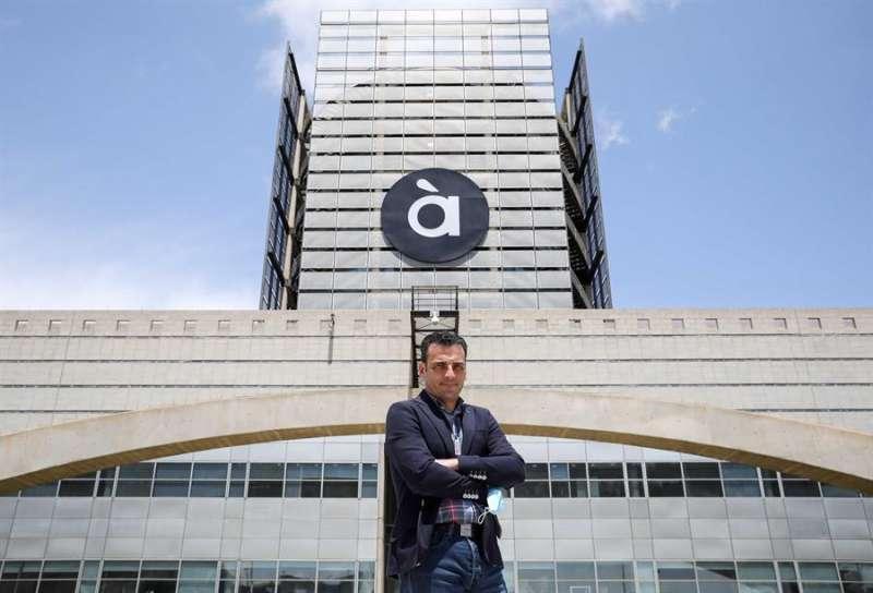 El director general de À Punt, Alfred Costa.EFE/ Ana Escobar