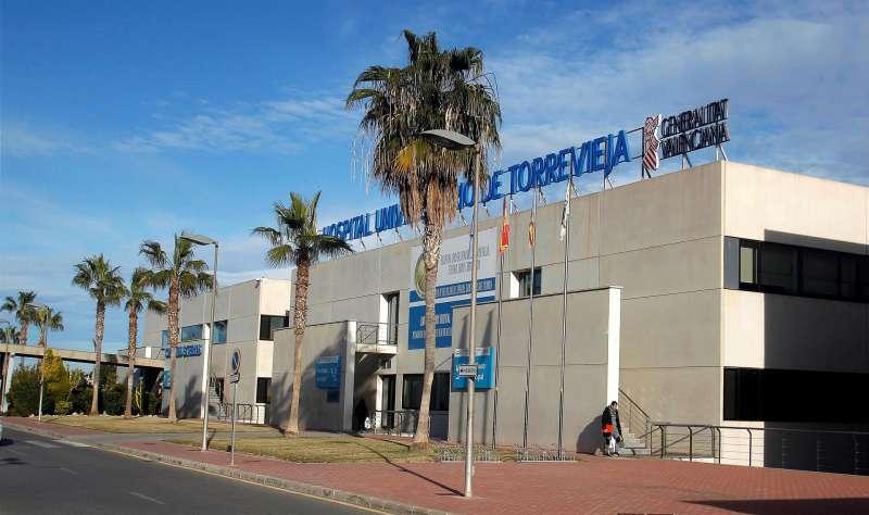 Imagen de archivo del Hospital de Torrevieja (Alicante).