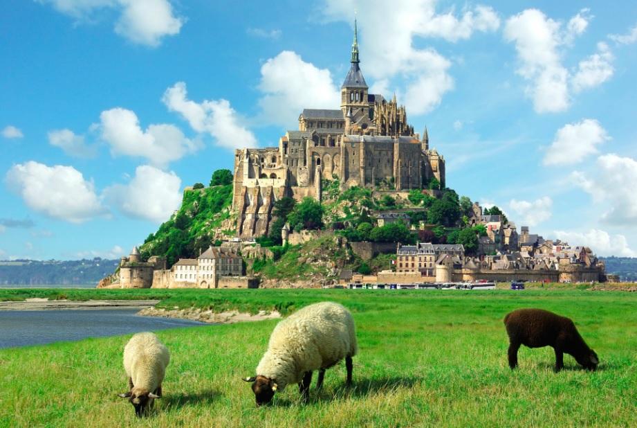El Mont Saint Michel, en toda su espectaculalridad