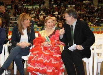 Puig celebrando el Día de Andalucía. FOTO SOCIALISTESVALENCIANS.ORG