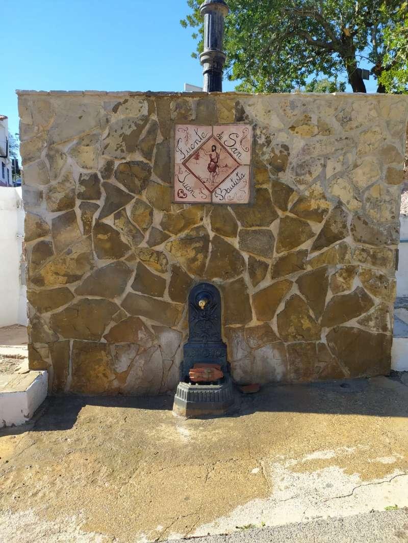 Fuente de San Juan Bautista del municipio. / EPDA