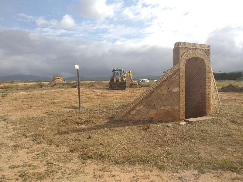 Aeródromo de Villar del Arzobispo. EPDA.
