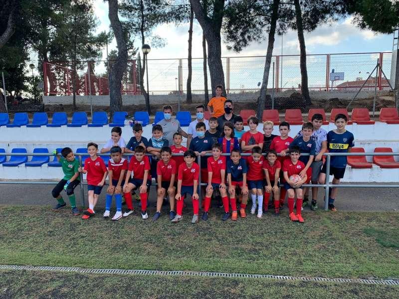 Escuela de Fútbol de Loriguilla. EPDA.