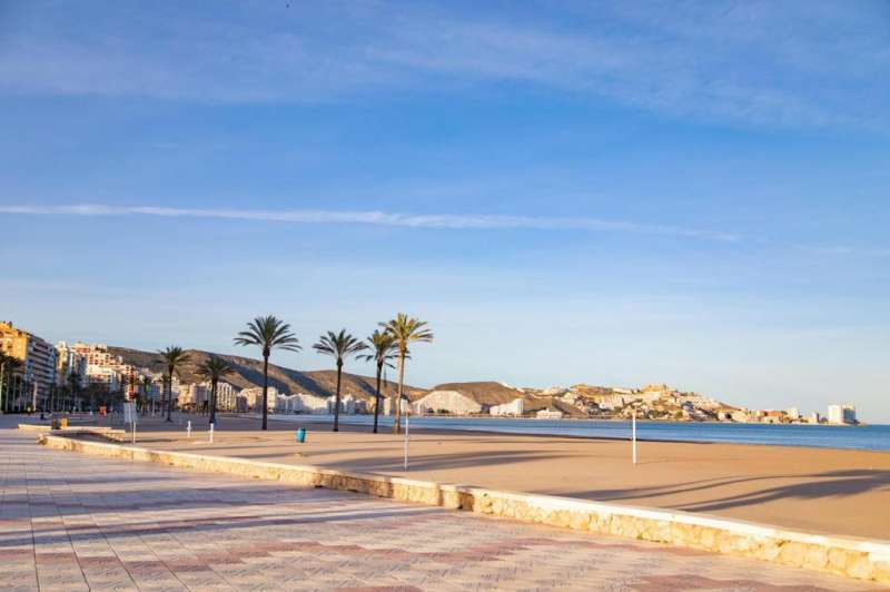 Foto archivo playa Cullera./EPDA