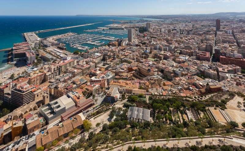 Alicante ciudad. EPDA