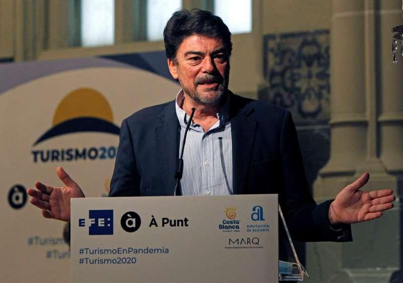 El alcalde de Alicante, Luis Barcala.