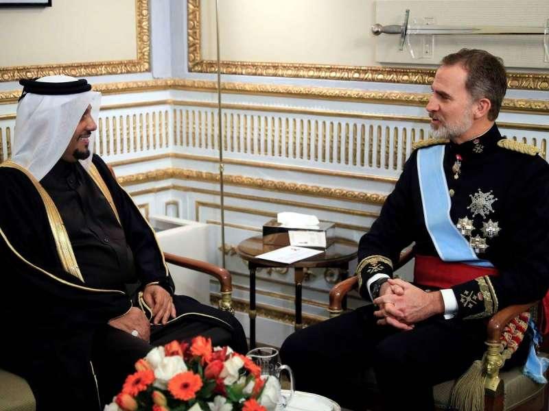 El embajador Abdulla bin Ibrahim Abdulrahman Sultan Al Hamar/EPDA