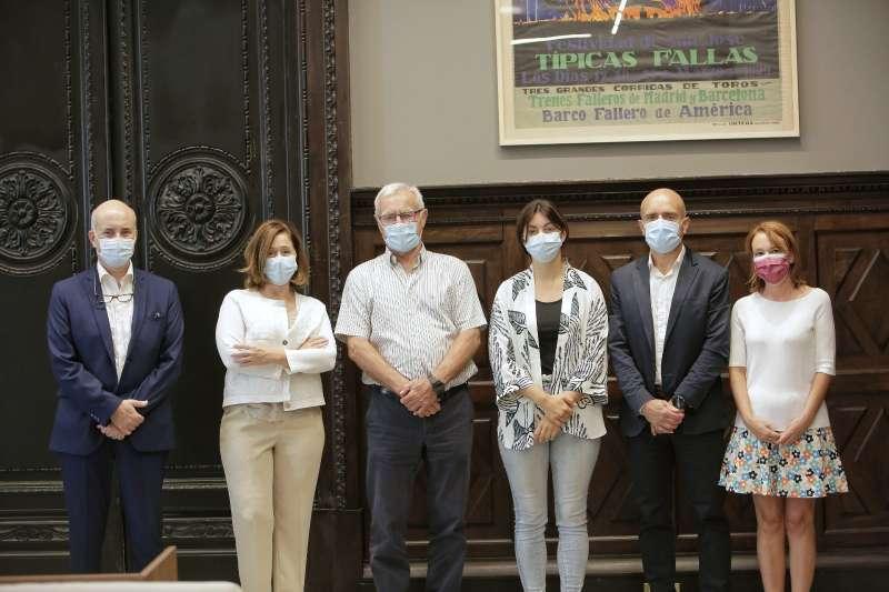 Reunión del Grupo Vithas en el Ayuntamiento de Valencia