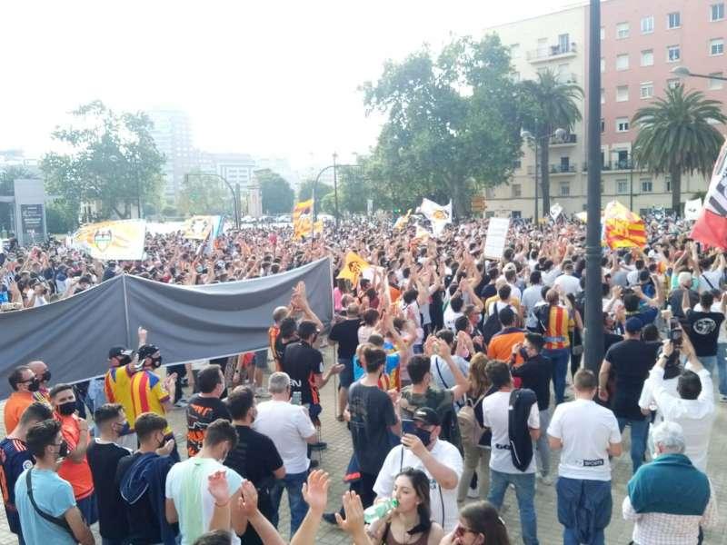 Manifestaci�n en Valencia. Foto de Libertad VCF