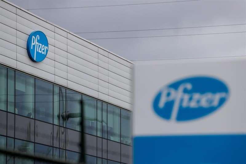 Planta de la farmaceútica Pfizer en Bélgica.