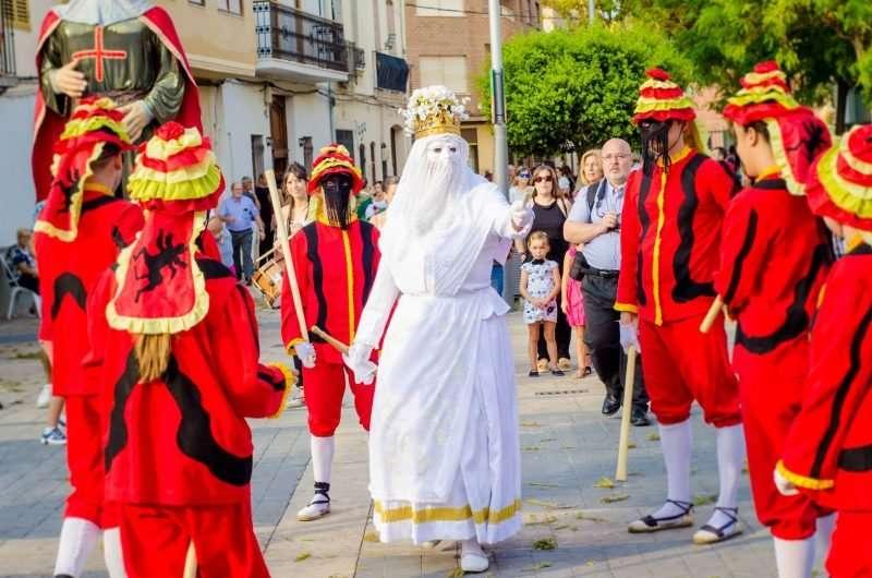Imagen de archivo de un acto festivo en Almàssera. EPDA