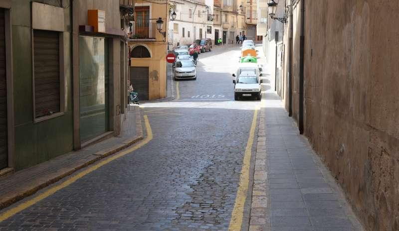 Calle del casco antiguo