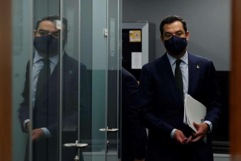 El presidente de la Junta de Andalucía, Juanma Moreno, en una imagen reciente.
