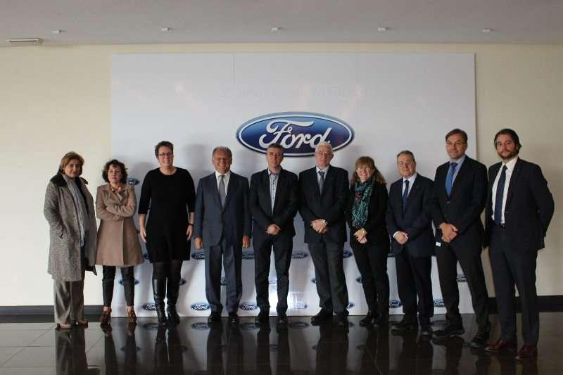 El conseller Climent en la Ford