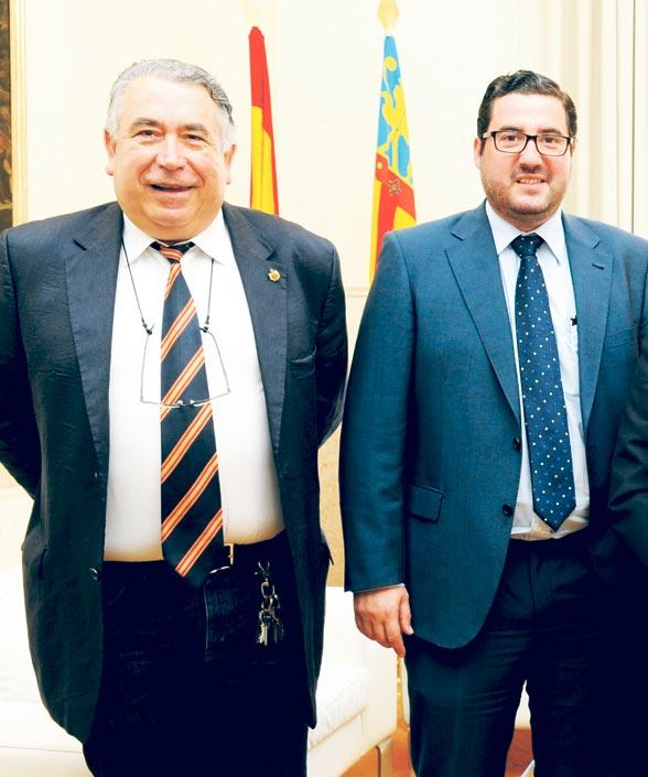Leandro Benito, a la derecha. FOTO EPDA