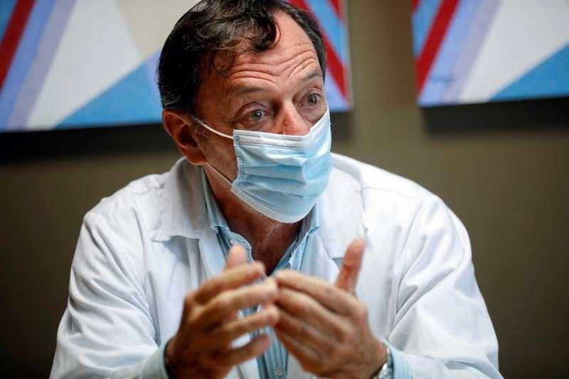El presidente de la Sociedad Europea de Neonatología, Máximo Vento. EFE