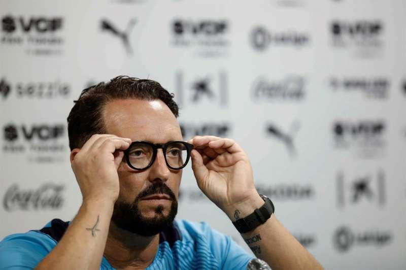 El entrenador del Valencia CF, José Bordalás, en una imagen reciente. EFE/Ana Escobar