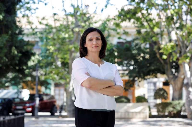 Nuria Enguita, directora del IVAM. EFE/Ana Escobar